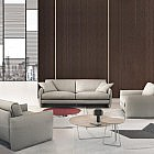 2-Sitzer-Sofa Rindsleder