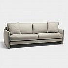3-Sitzer-Sofa Rindsleder