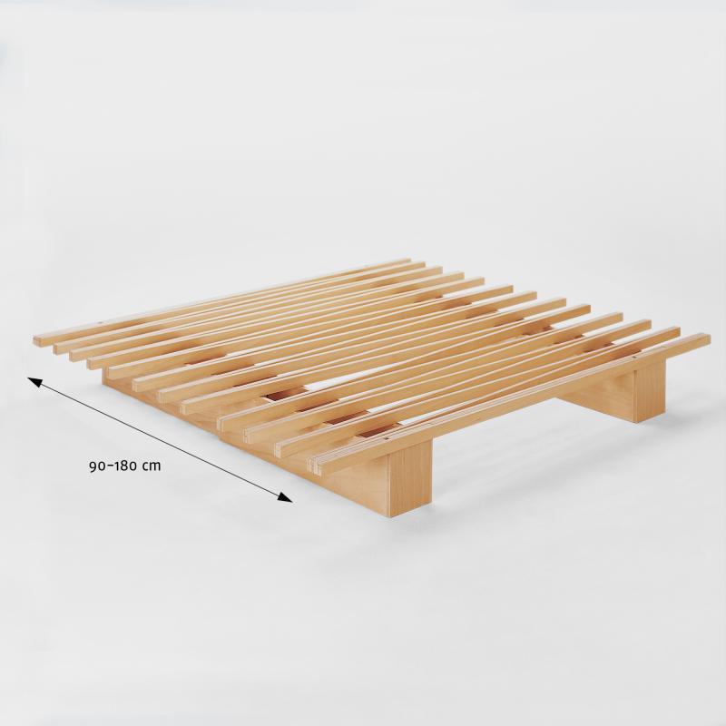 Variables Systembett aus Buchenholz - Biber.com