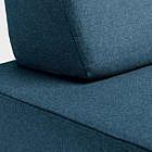Schlafsofa Flex, grau-blau