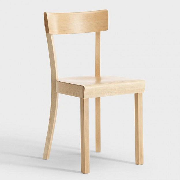 Original Frankfurter Stuhl, natur lackiert