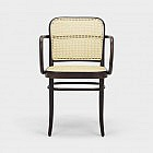 Ton-Bugholzsessel Rattan