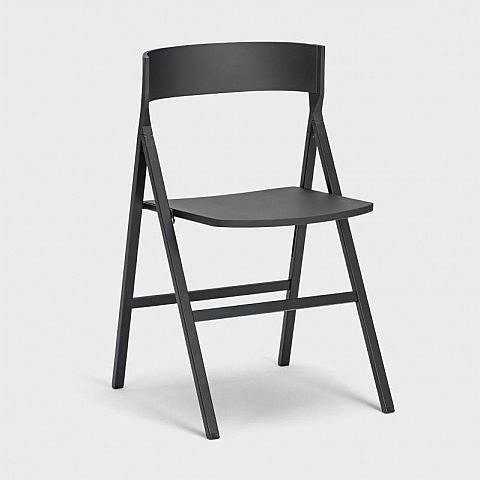 design klappstuhl schwarz. Black Bedroom Furniture Sets. Home Design Ideas