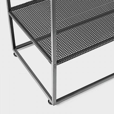 garderobe stahl schwarz. Black Bedroom Furniture Sets. Home Design Ideas