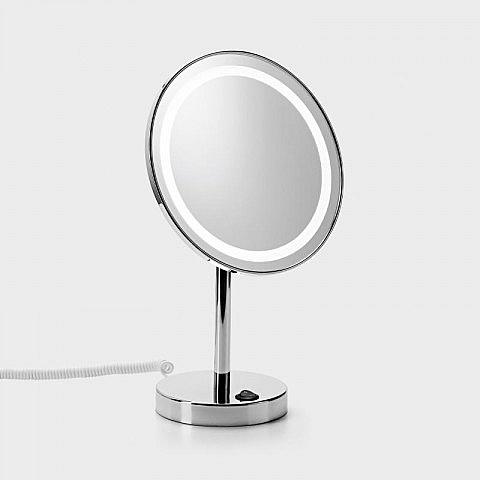 Standspiegel mit Warm- und Tageslicht