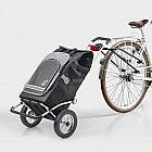 Fahrradkupplung für Einkaufstrolley
