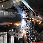 Schwenkgrill Edelstahl mit Feuerschale