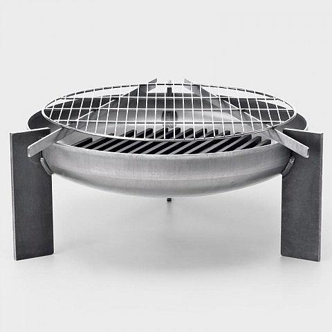grillrost edelstahl f r feuerstelle stahl. Black Bedroom Furniture Sets. Home Design Ideas