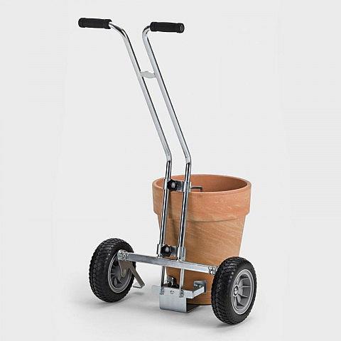 transportkarre f r pflanzenk bel stahl. Black Bedroom Furniture Sets. Home Design Ideas