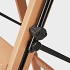 Stehleiter 5-stufig mit Ablage, Buche