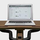 Laptop-Auflage, Nussbaum