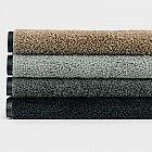 Fußmatte Polyamid 50 x 75 cm, schwarz