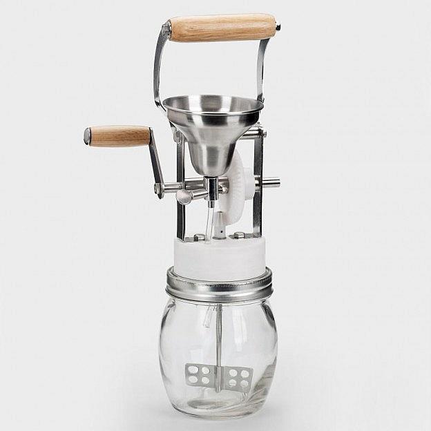 Mayonnaise-Rührmaschine Glas