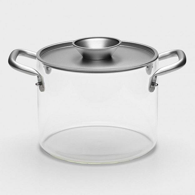 Kochtopf aus Borosilikatglas