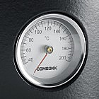 Kochtopf Gusseisen mit Thermometer, 28 cm
