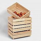 Obst- und Gemüsekiste, Kiefer