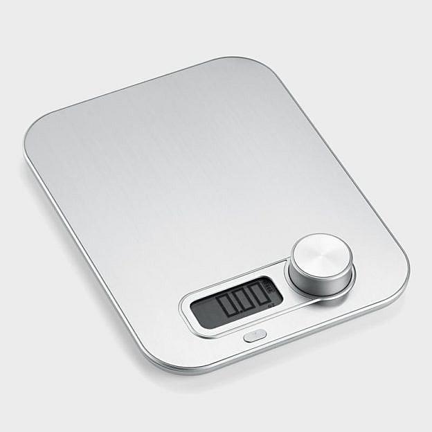 Küchenwaage Edelstahl, batterielos