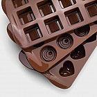 Schokoladenformen Silikon, 3er-Set