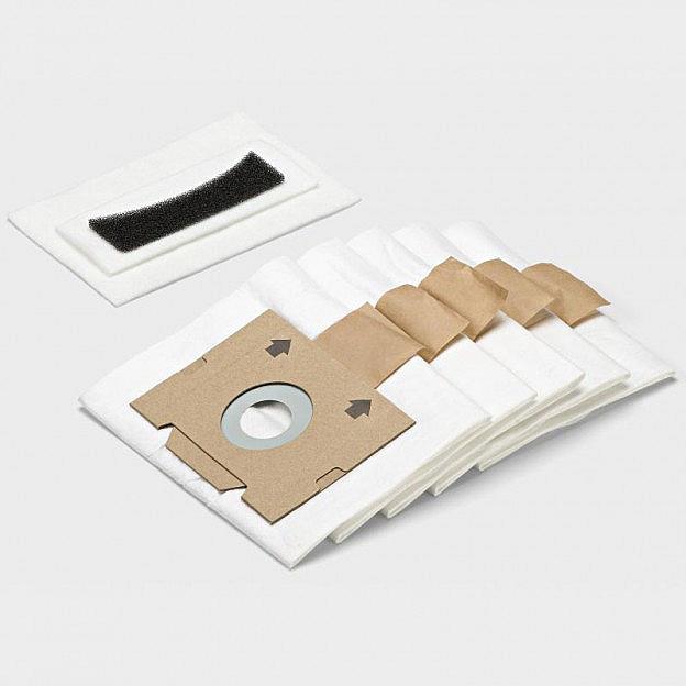 Ersatzstaubbeutel und -filter Schlittensauger