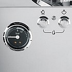 Espressomaschine Edelstahl mit Kegelmahlwerk