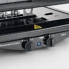 Gourmet-Raclette mit Grill- & Natursteinplatte