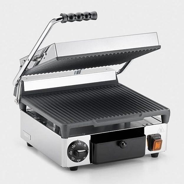 Kontaktgrill und Panini-Toaster Edelstahl