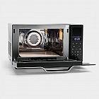 Inverter-Mikrowellen-, Heissluft- und Grillgerät Edelstahl
