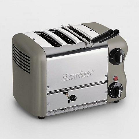 Rowlett 3-Schacht-Toaster mit Sandwichzange, grafit