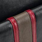 Rucksack Tricolore, Rindsleder schwarz