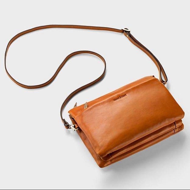 Damenhandtasche Rindsleder