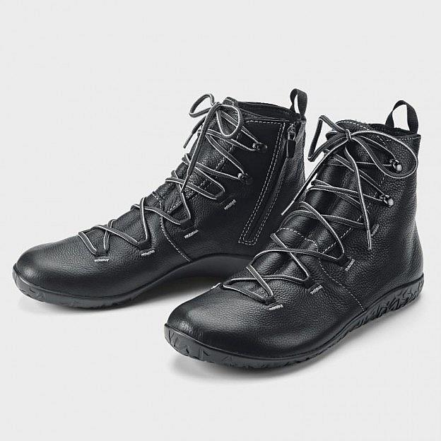 Herren-Wintersneaker hoch, schwarz