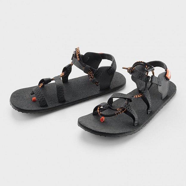 Trekking-Sandale, schwarz
