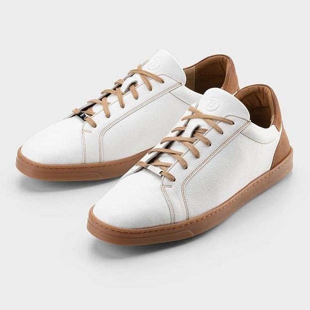 Herren-Sneaker Heron, Kalbsleder