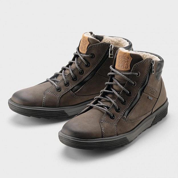 Herren-Sneaker, gefüttert, Rindsleder, Gore-Tex®