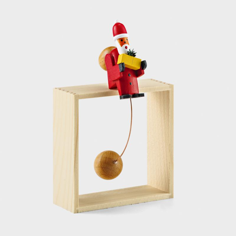 Schaukel-Weihnachtsmann - Biber.com