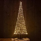 LED-Lichterkettenbaum 100 cm, Stahl