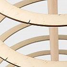 Spiral-Dekorbaum Birke