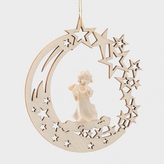 Weihnachtsengel Ahornholz, handgemacht