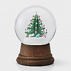 Weihnachtsbaum Glas, Buche