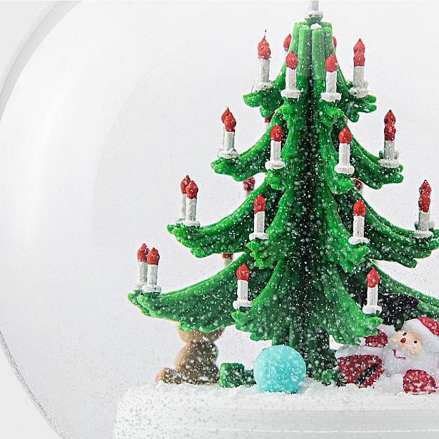 weihnachtsbaum glas buche. Black Bedroom Furniture Sets. Home Design Ideas