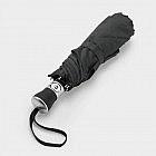 Taschenschirm Carbonstahlstock, schwarz
