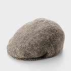 Schiebermütze Wolle, Heringbone