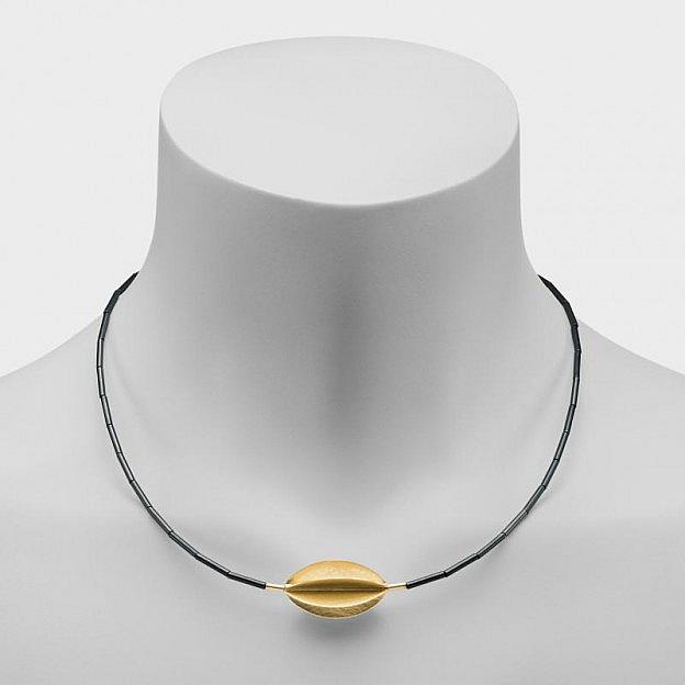 Collier Carambola, Sterlingsilber vergoldet