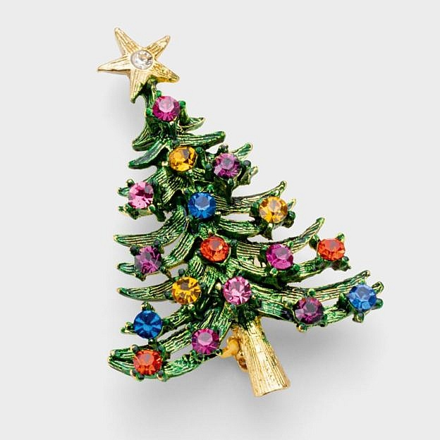 Brosche Weihnachtsbaum