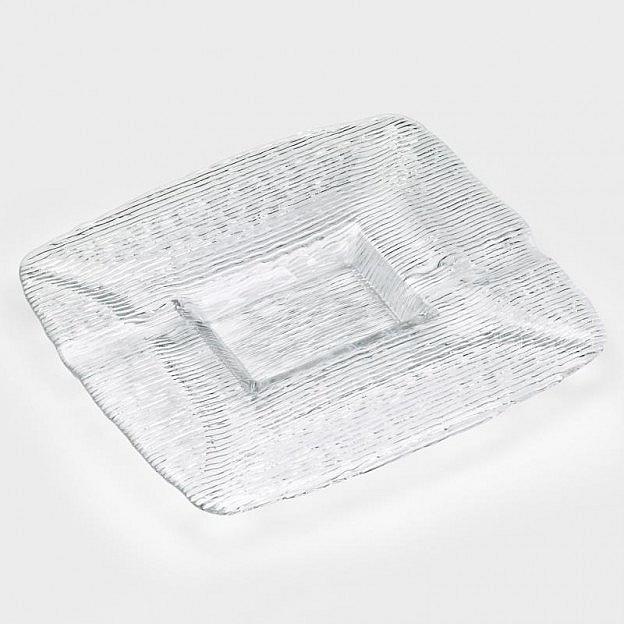 Dekoteller Kristallglas
