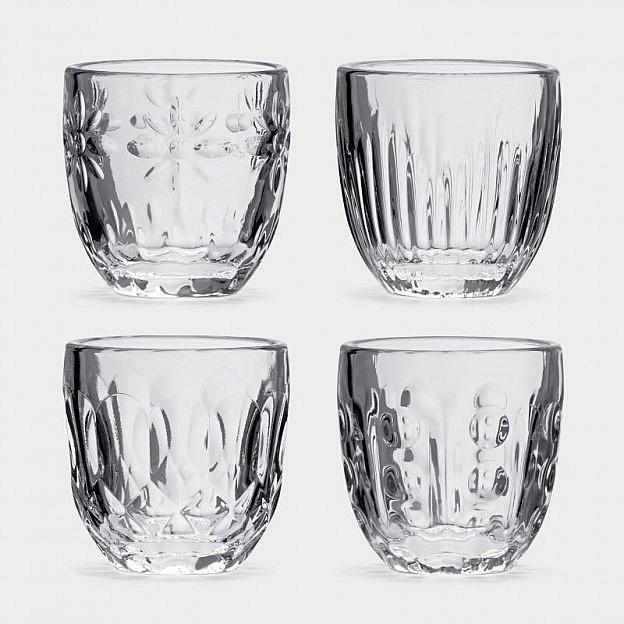 Espressoglas, 4er-Set