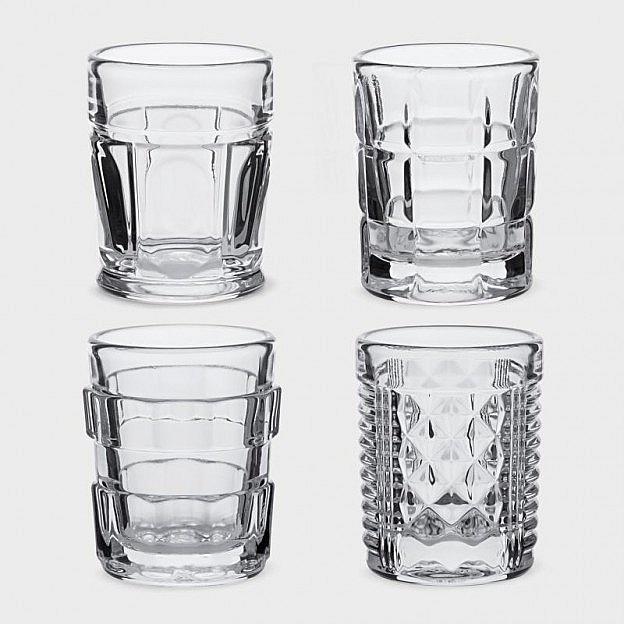 Shooter-Gläser, 4er-Set