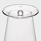 Trinkglas-Abdeckung, Glas 2er-Set