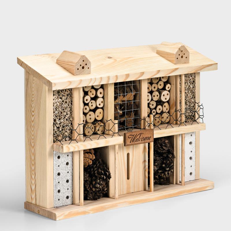insektenhotel kiefernholz biber umweltprodukte versand. Black Bedroom Furniture Sets. Home Design Ideas