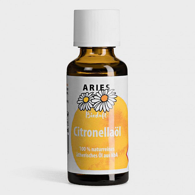 Citronella-Öl, Bio-Qualität